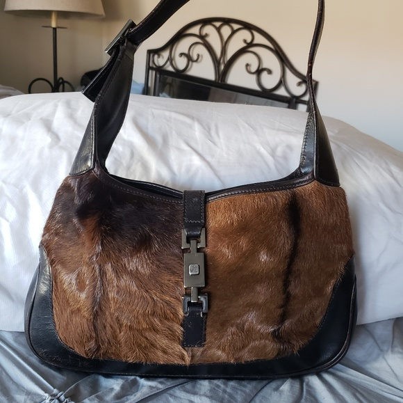 987bb57adce Gucci Handbags - GUCCI🐎🐴AUTHENTIC PONY PELT JACKIE O SATCHEL
